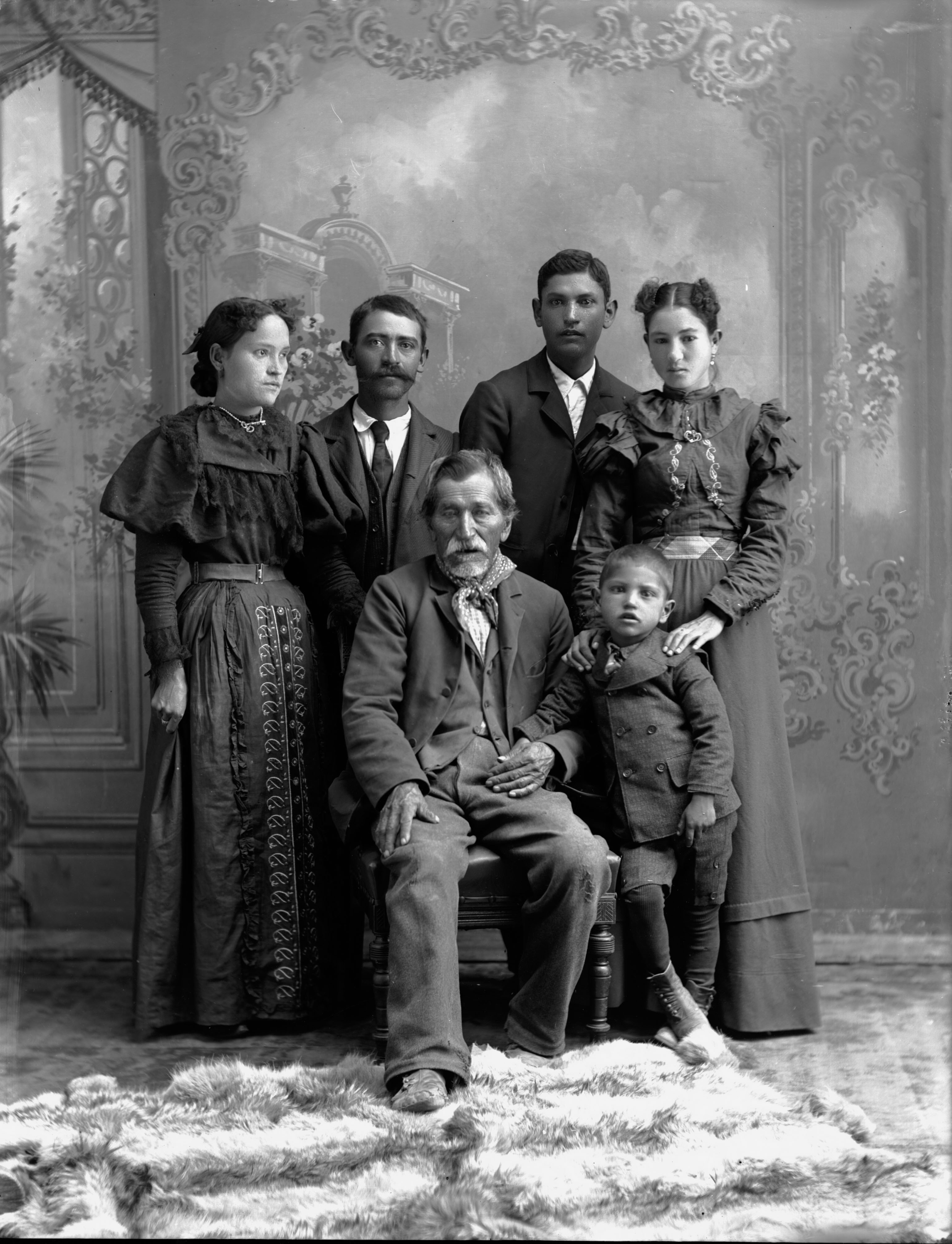 M. Mestes and Family, Aultman Studio Collection