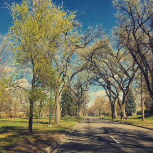6th Avenue Parkway in Denver.