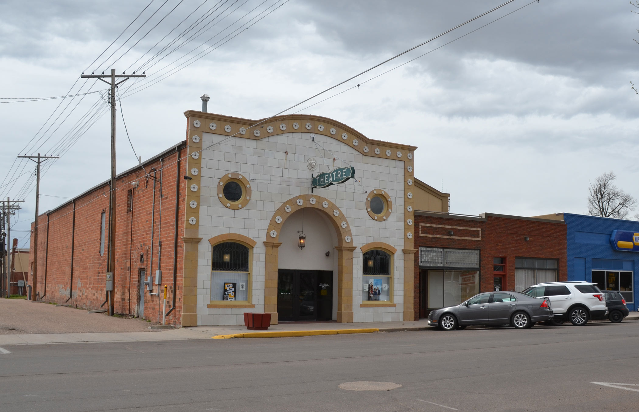 The Hippodrome Theatre in Julesburg.
