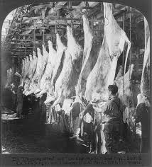 Meat packing 1906.