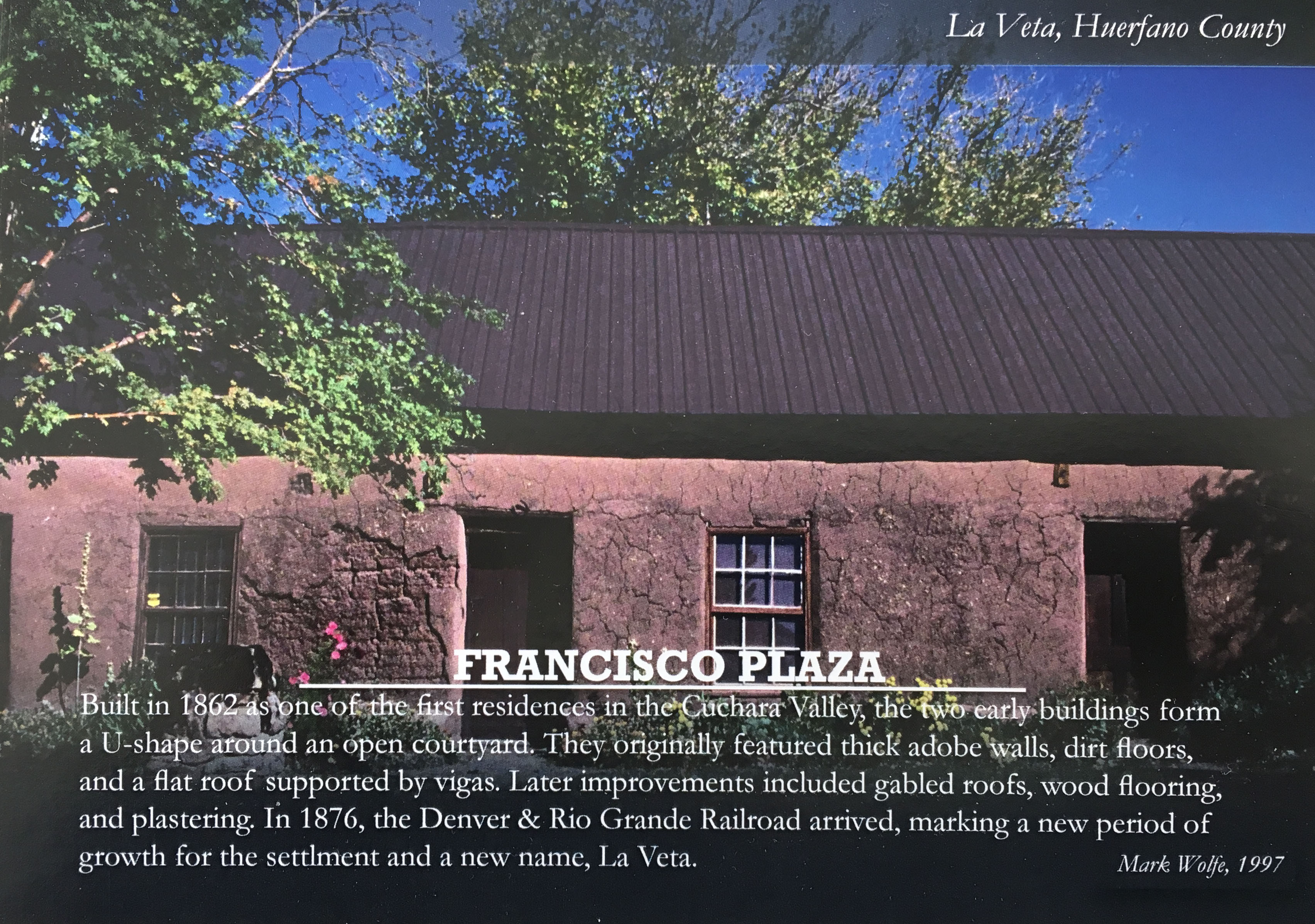 Francisco Plaza Postcard