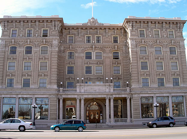 The Vail Hotel in Pueblo is an example of the Beaux Arts style.