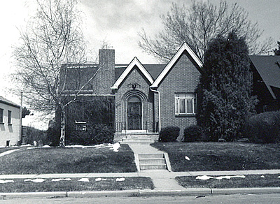 A Denver example of the English-Norman cottage style.