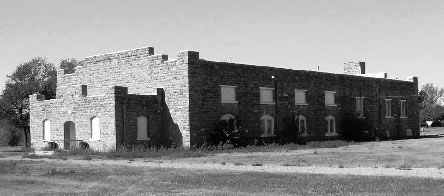 Black and white photo of a WPA Rustic gymnasium (5BA.1146).