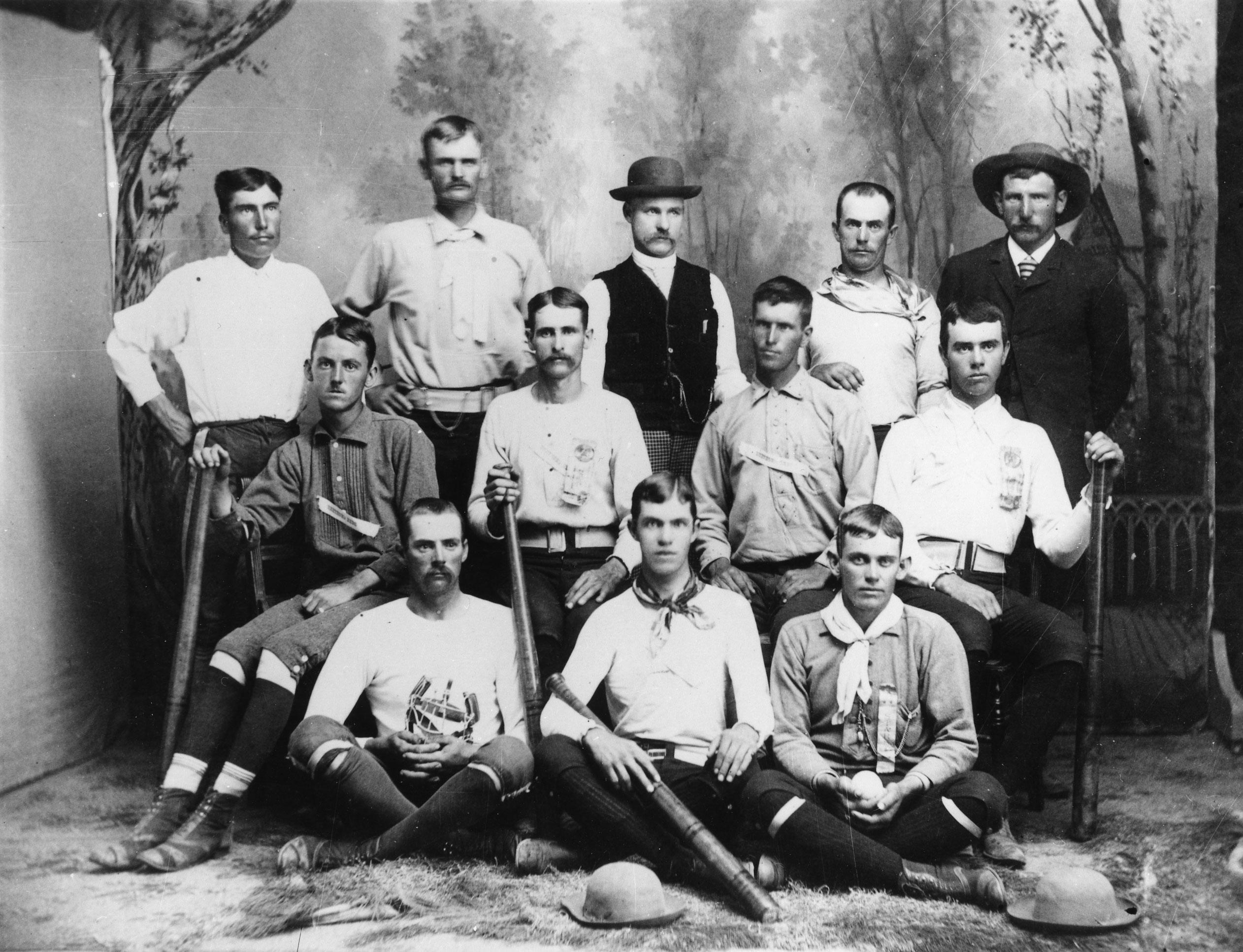 Berthoud baseball team 1880