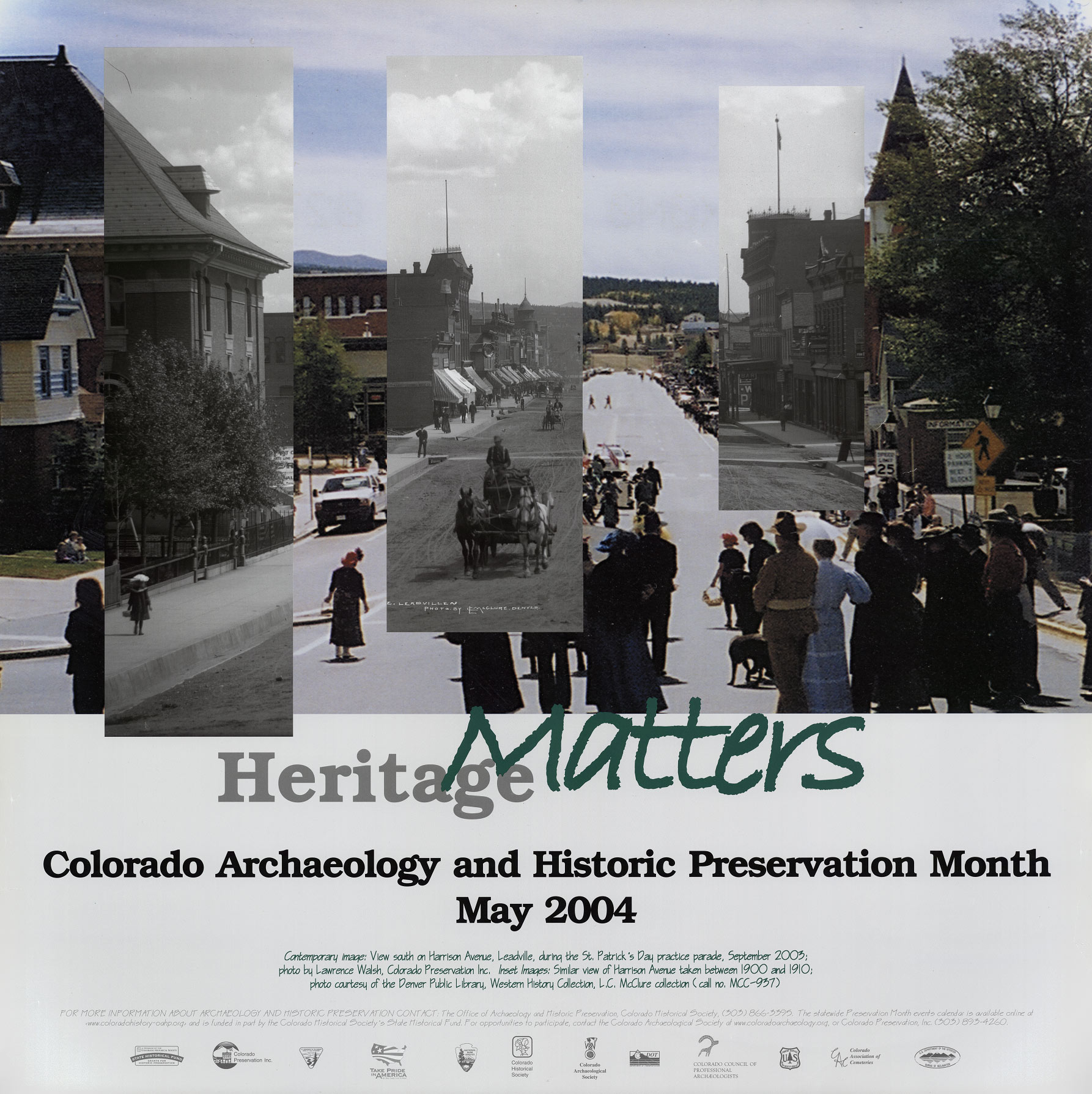 2004 Archaeology & Historic Preservation Month poster.