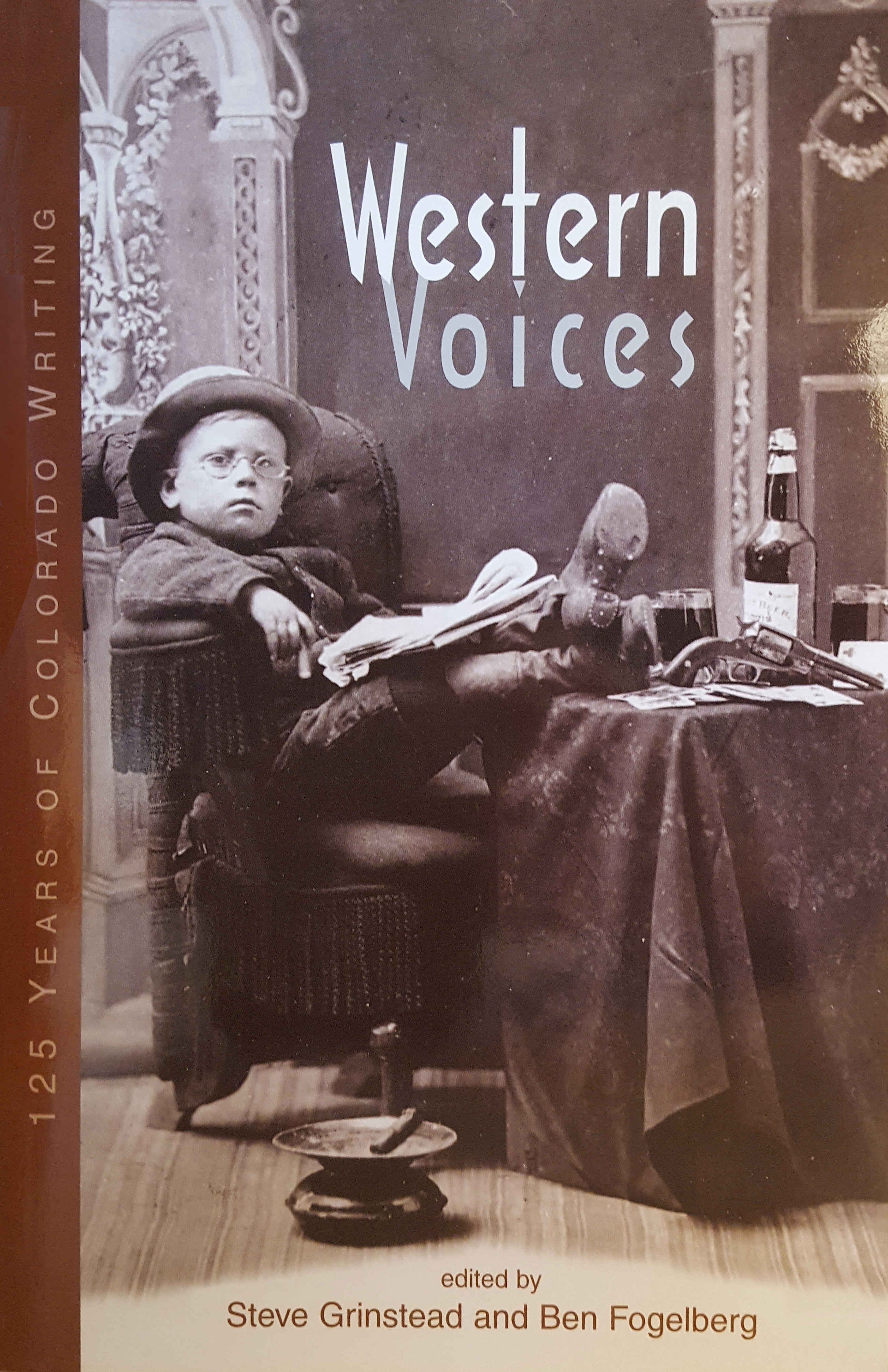 Western Voices: 125 Years of Colorado Writing cover