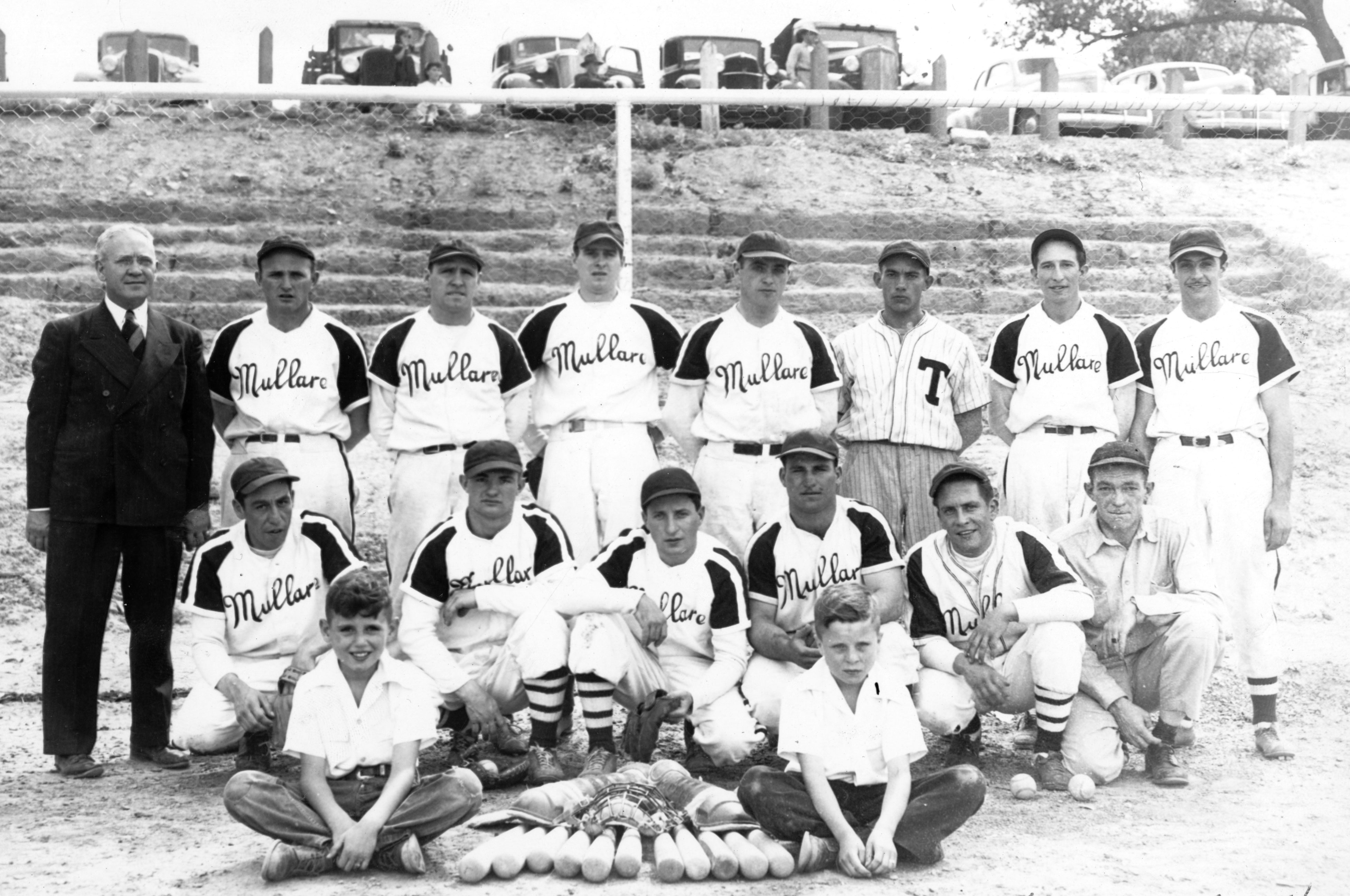 Mullare Funeral Home baseball team, Trinidad, about 1940