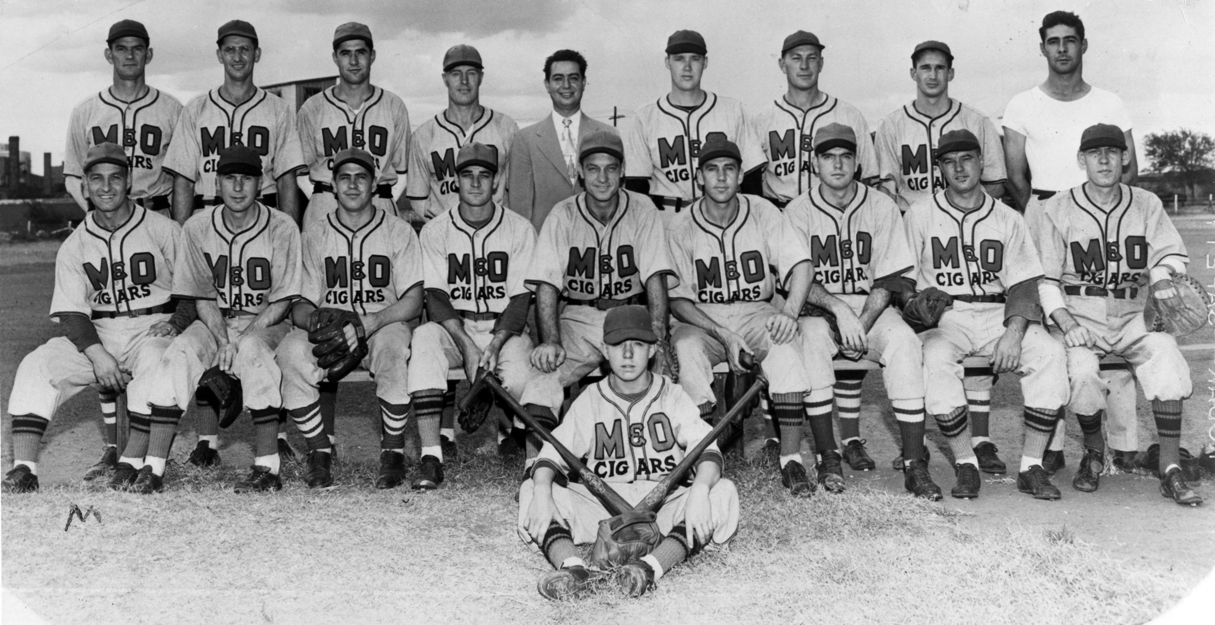 1946 Colorado champions in the Victory League, M&O Cigars baseball team, Denver