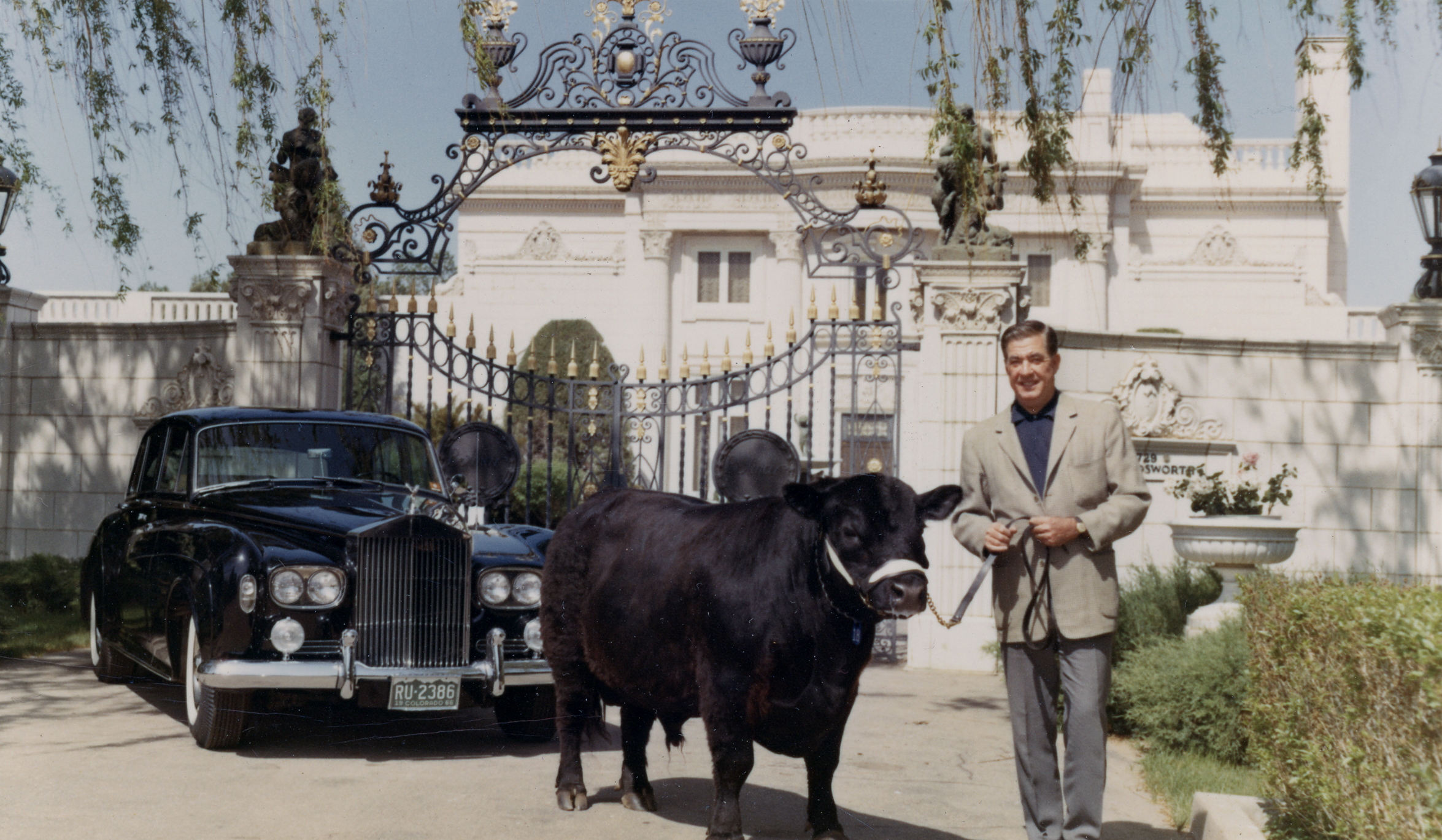 Ed Stanton with Steer and Rolls Royce