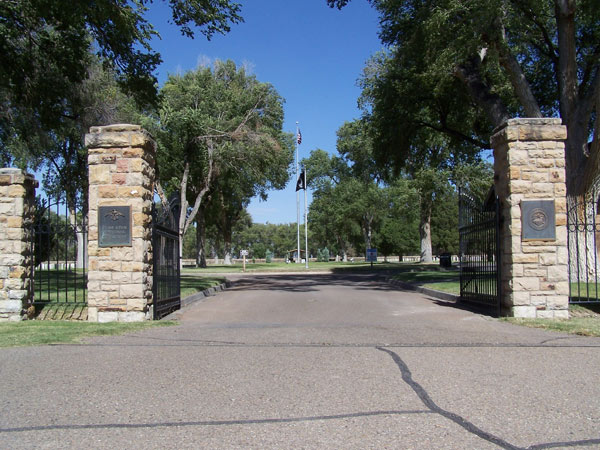 Fort Lyon National Cemetery Entrance (5BN.1331)