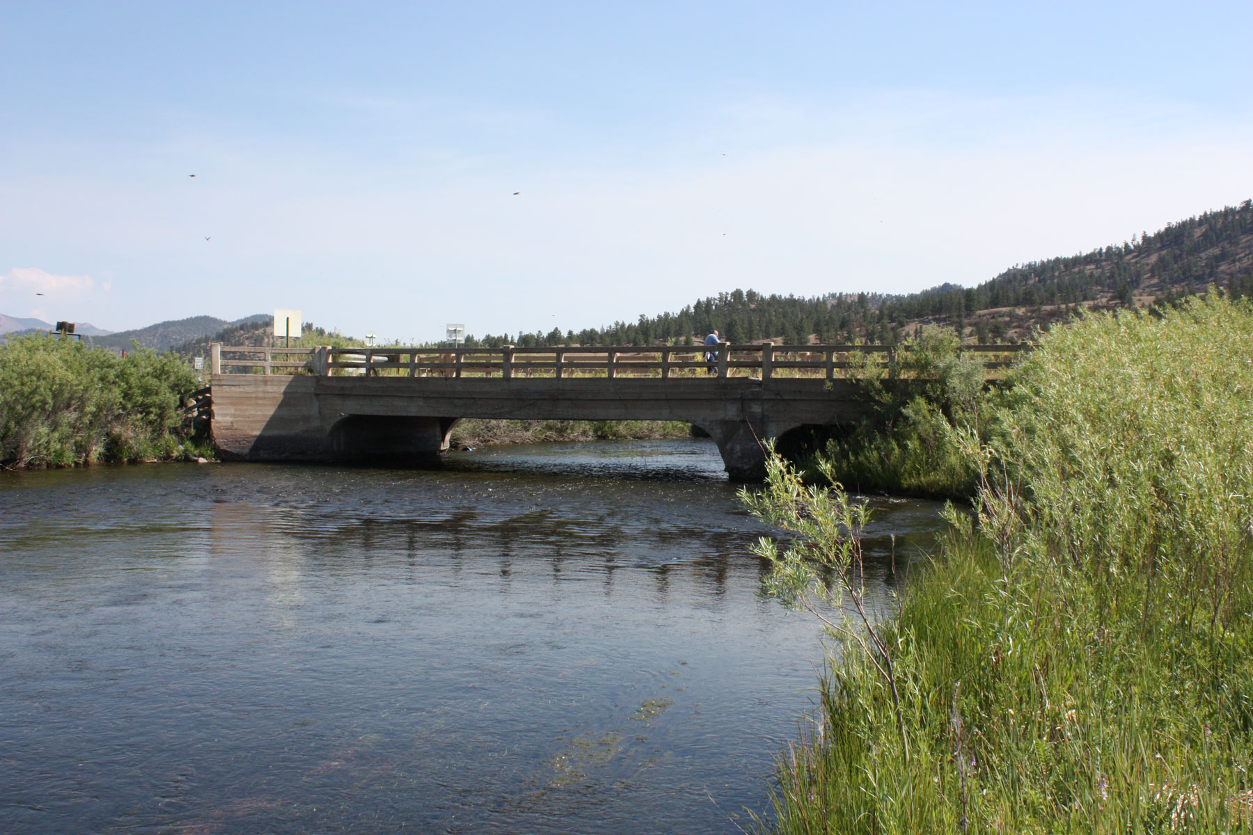 South Platte River Bridge.