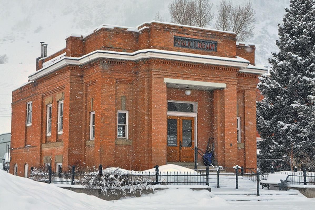 Carnegie Library in Silverton, Colorado