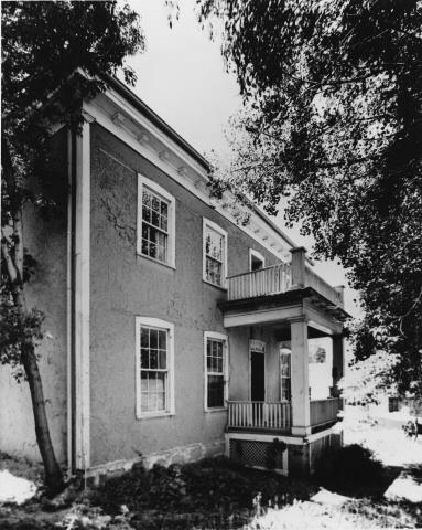 Baca House in 1960
