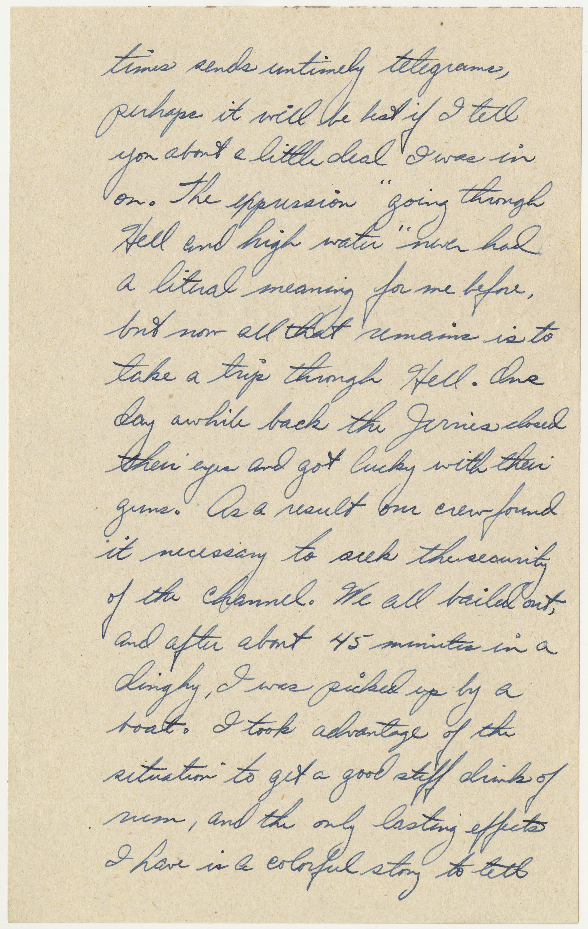 page 2 of letter written by Bischoff on May 12, 1944