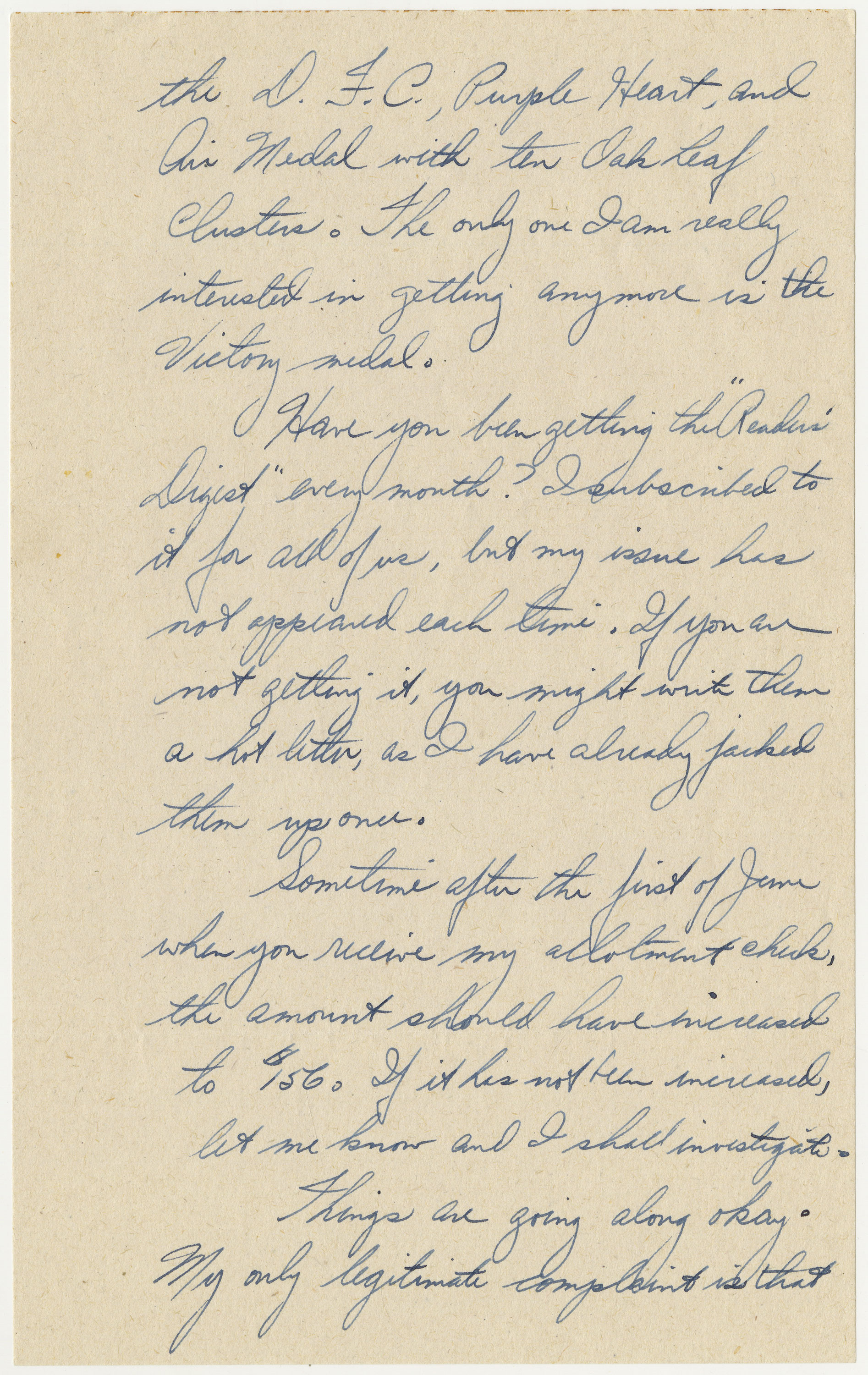 page 2 of letter written by Bischoff on May 24, 1944