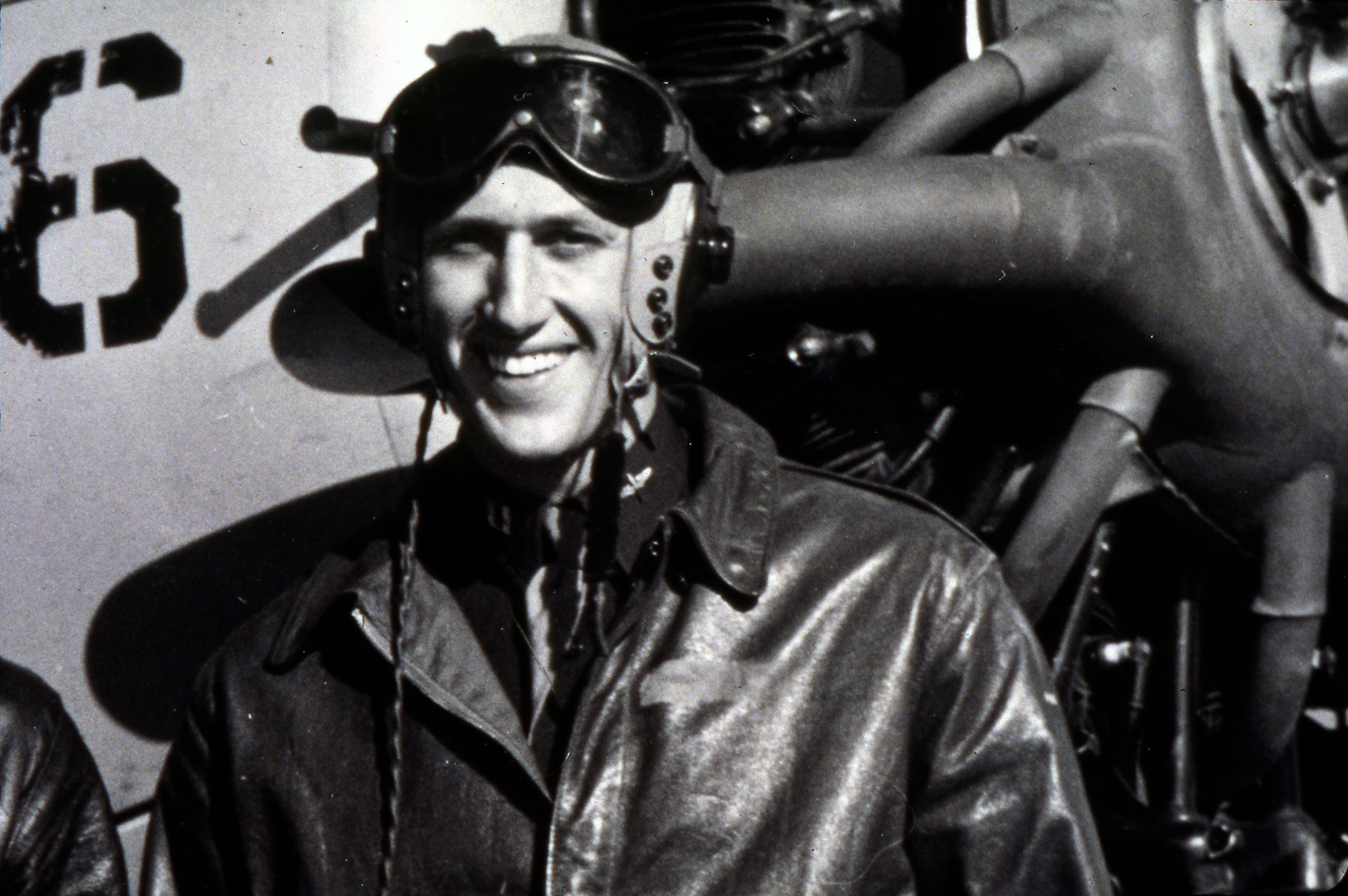 photo of Martin Bischoff as a pilot