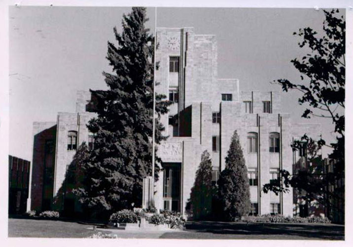 Boulder County Courthouse in 1977