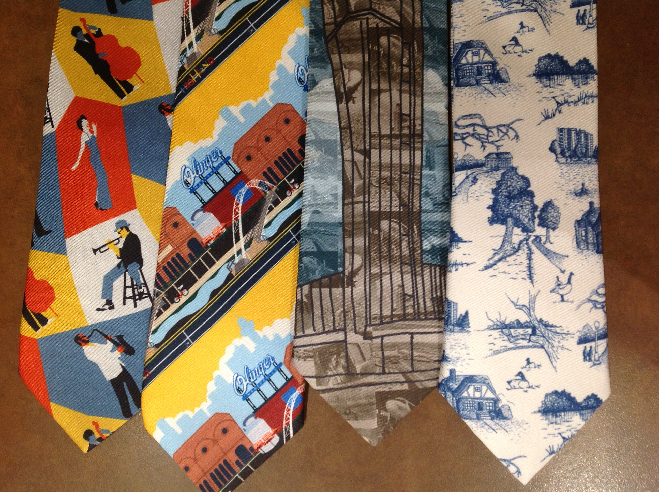 Neckties for Denver neighborhoods