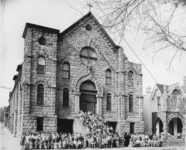 Mount Carmel Parish School Denver 1945