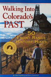 Walking into Colorado's Past book cover