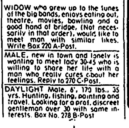 newspaper ads from 1983