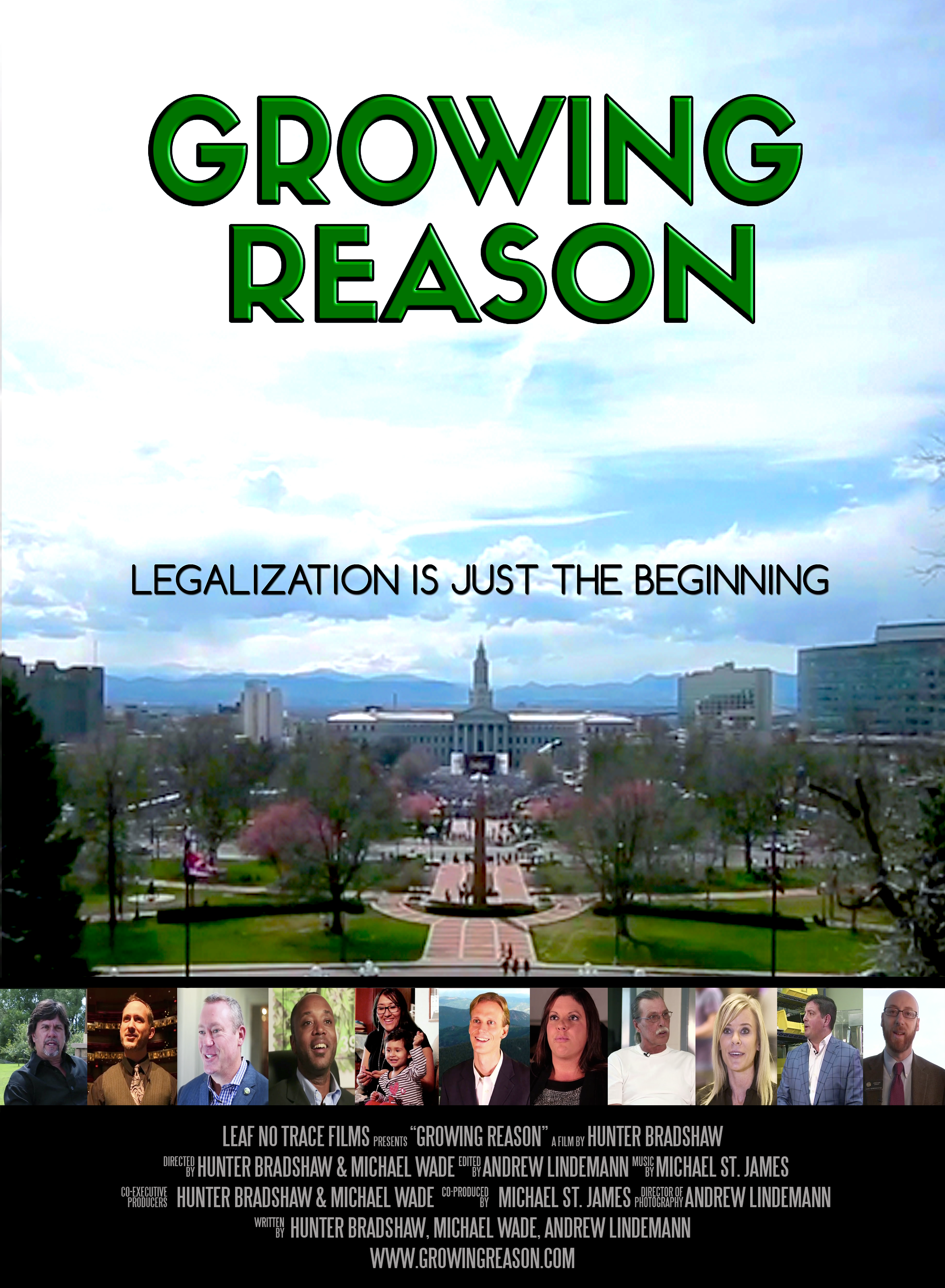 poster for documentary film Growing Reason