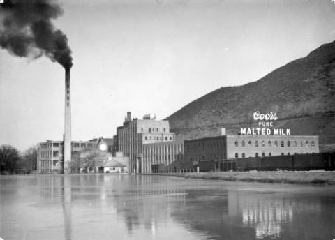 Coors Malted Milk factory