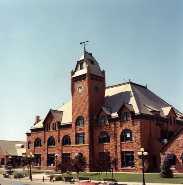 The Union Depot in downtown Pueblo, CO.