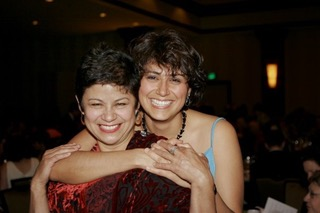 Lisa Flores and her mother Carmela