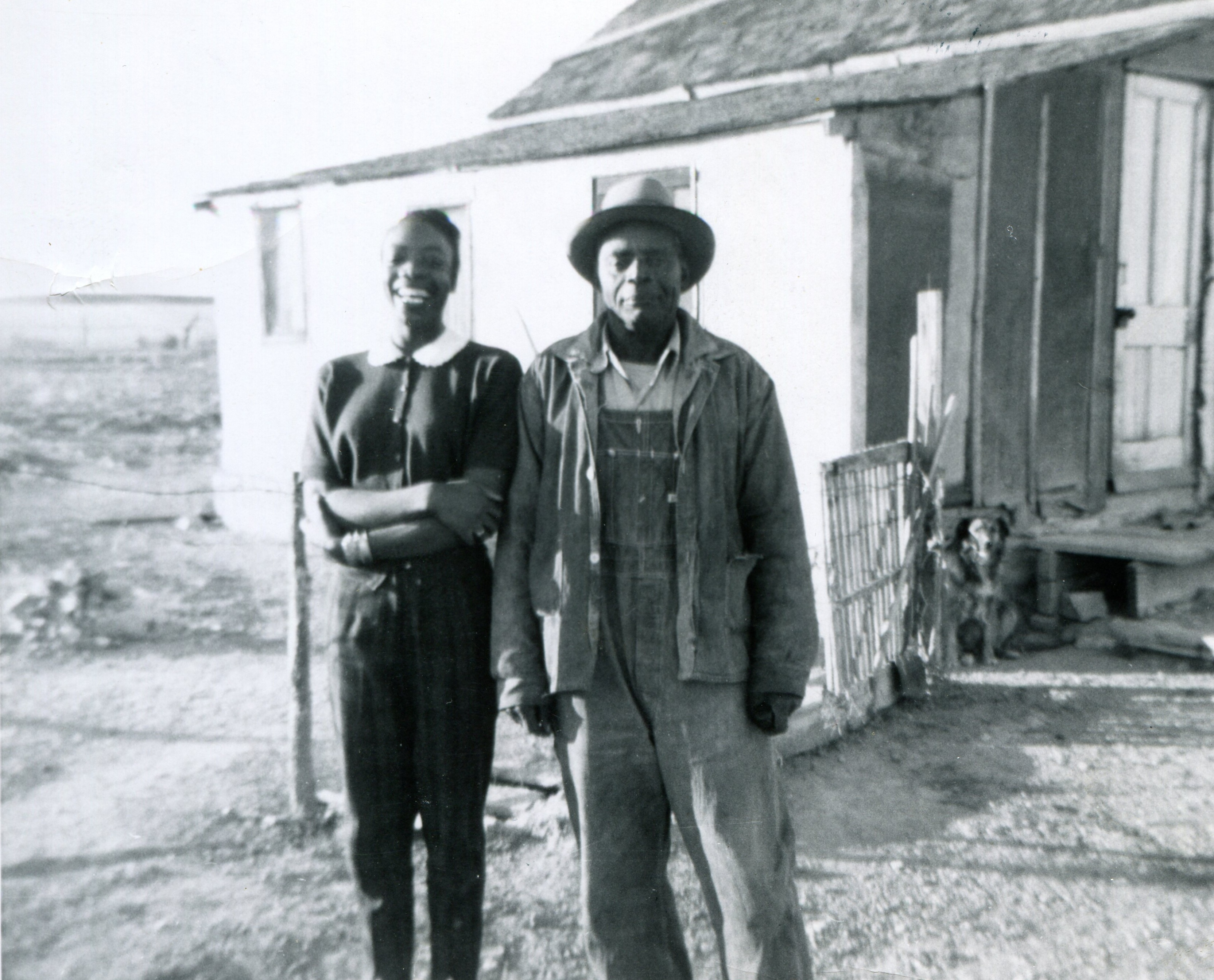 Couple at The Dry farming community