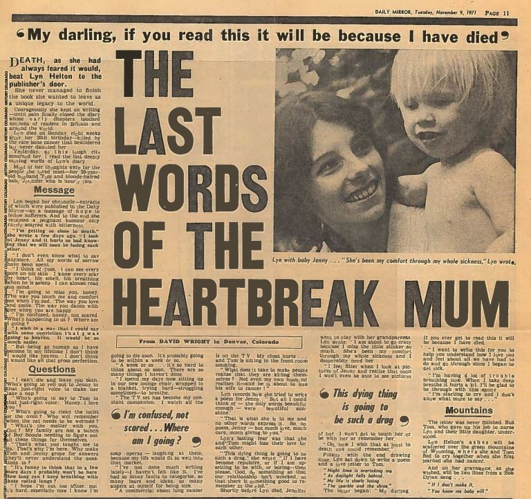The Last Words of the Heartbreak Mum
