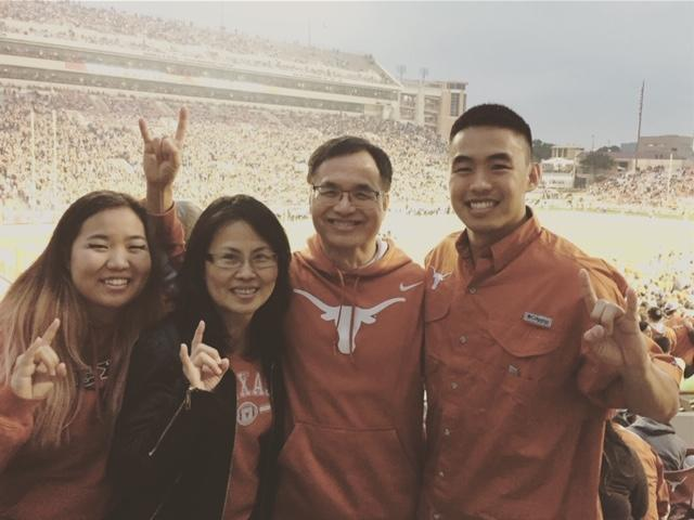 Photo of Alex Ju and family
