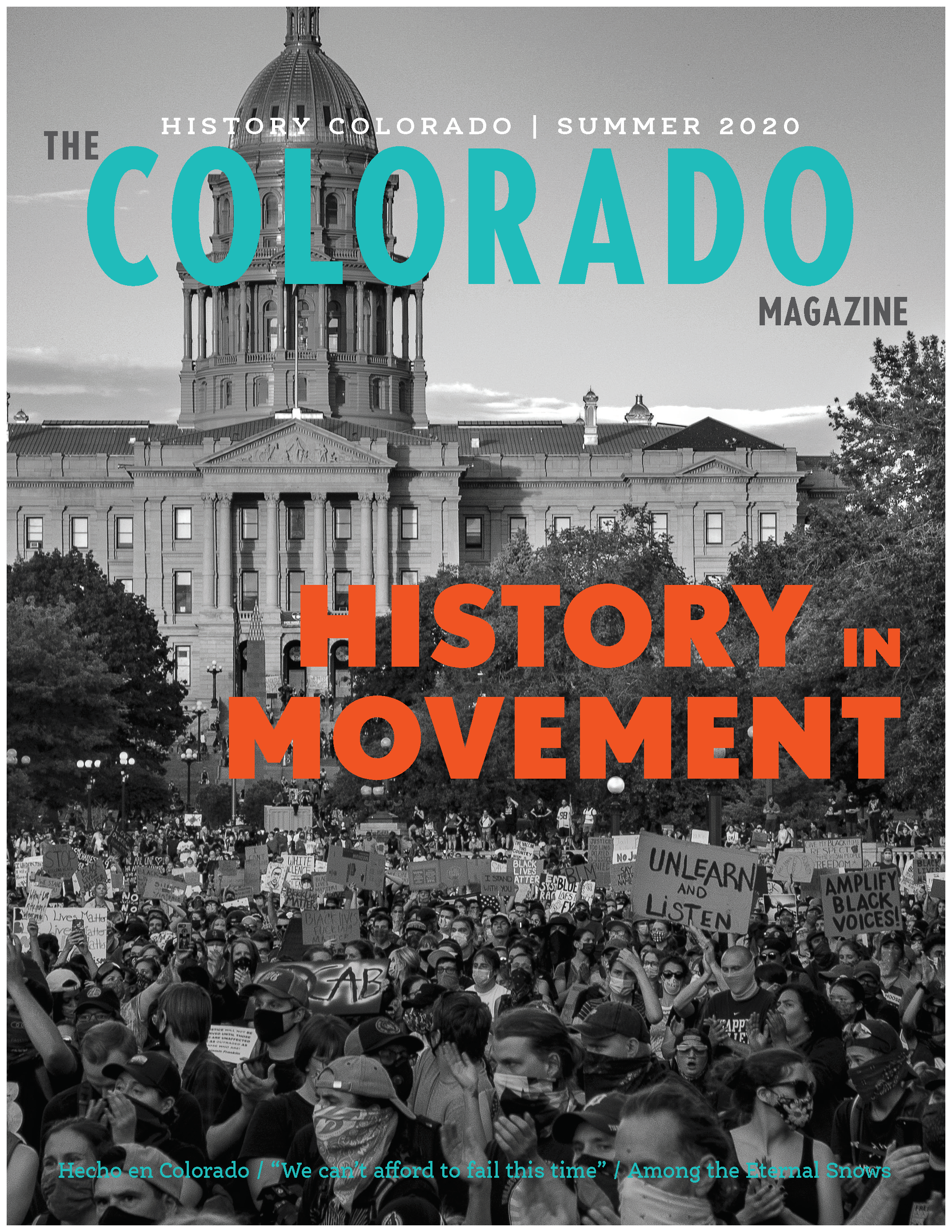 Colorado Magazine Summer 2020 Cover
