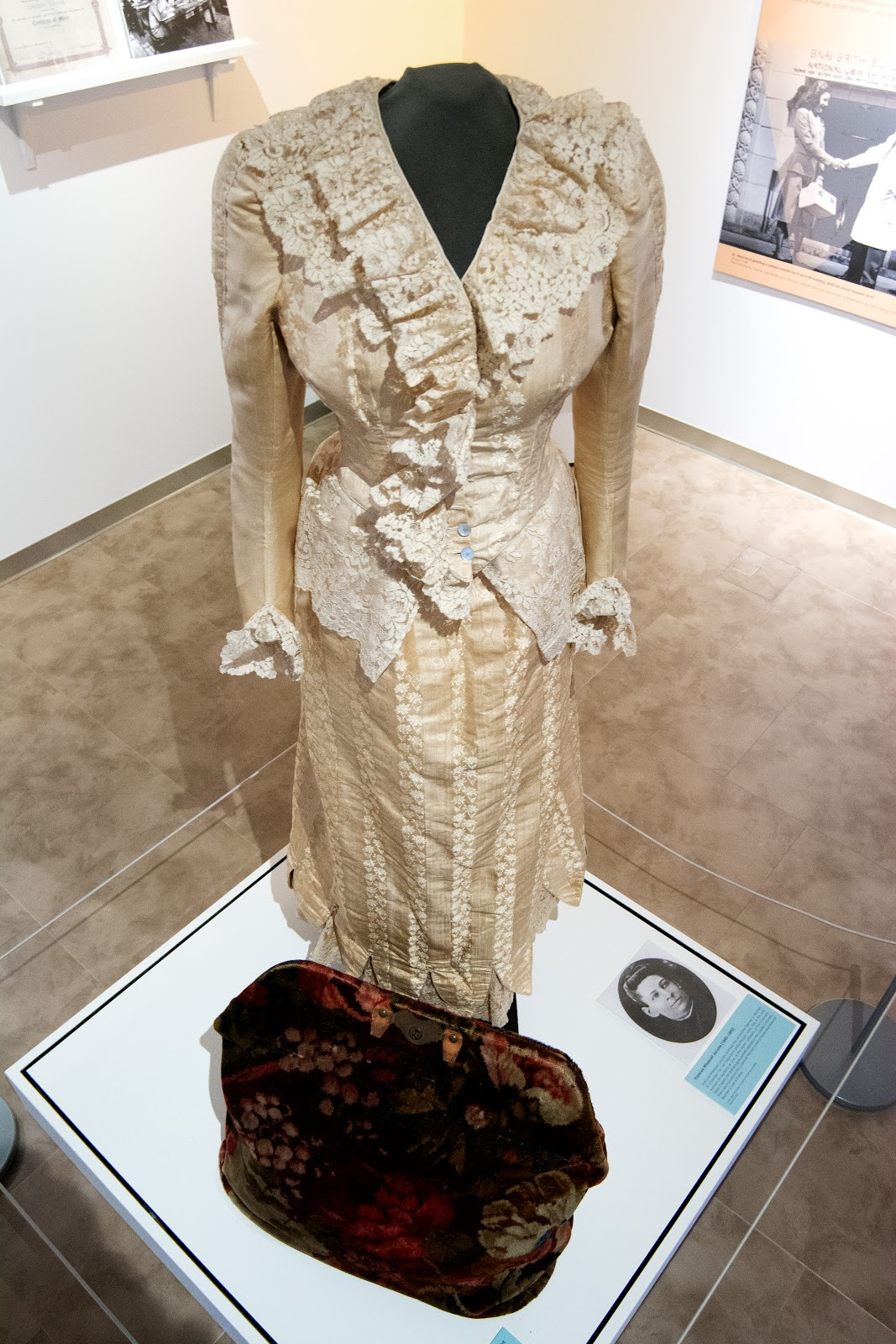 Dress in the Ballantine Gallery
