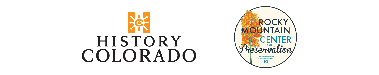 Rocky Mountain Center for Preservation logo lockup