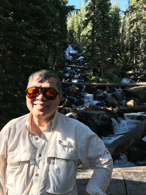 William Wei in RMNP