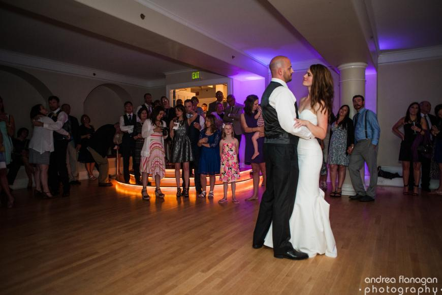 GHM bride and groom dance
