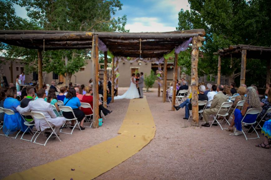 El Pueblo Placita Wedding