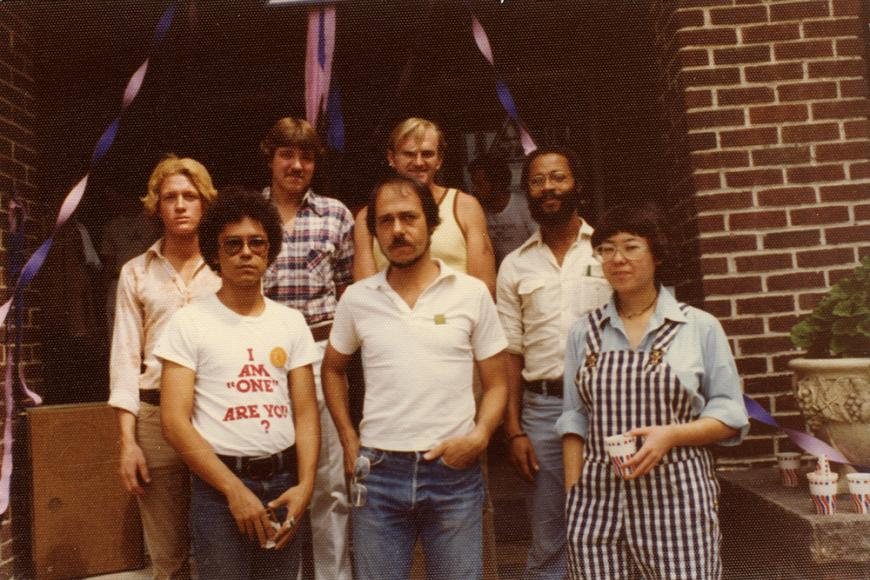Gay and Lesbian Community Center of Colorado Collection photo of group of people