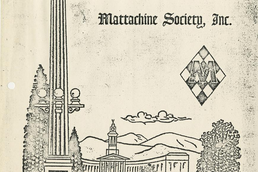 Gay Coalition of Denver Mattachine Society papers page
