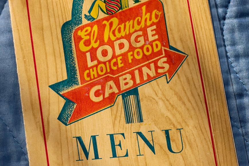 El Rancho Lodge Menu