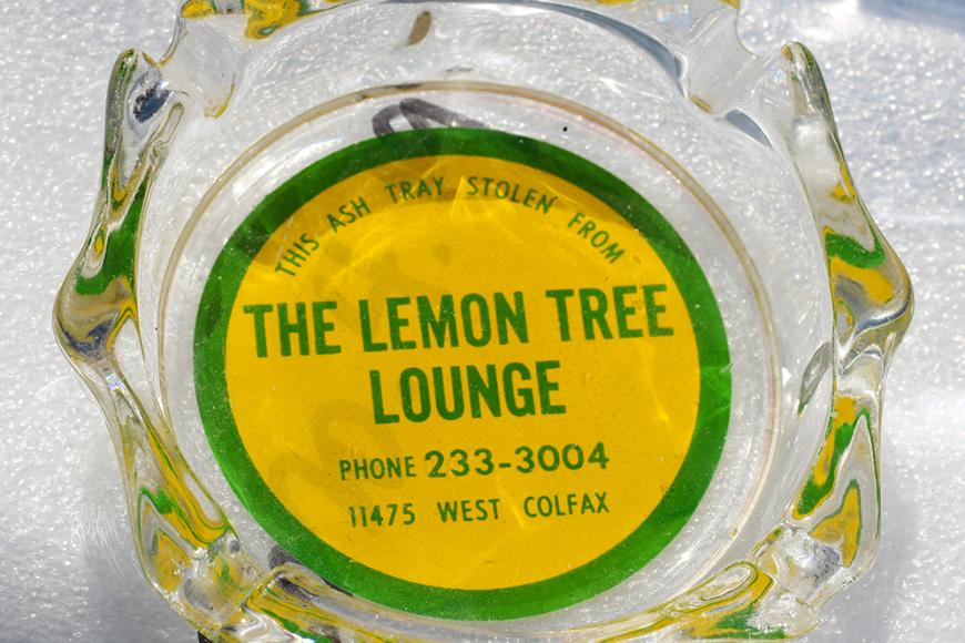 Ashtray from The Lemon Tree