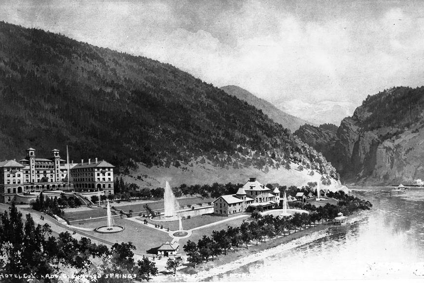 Hotel Colorado in 1900