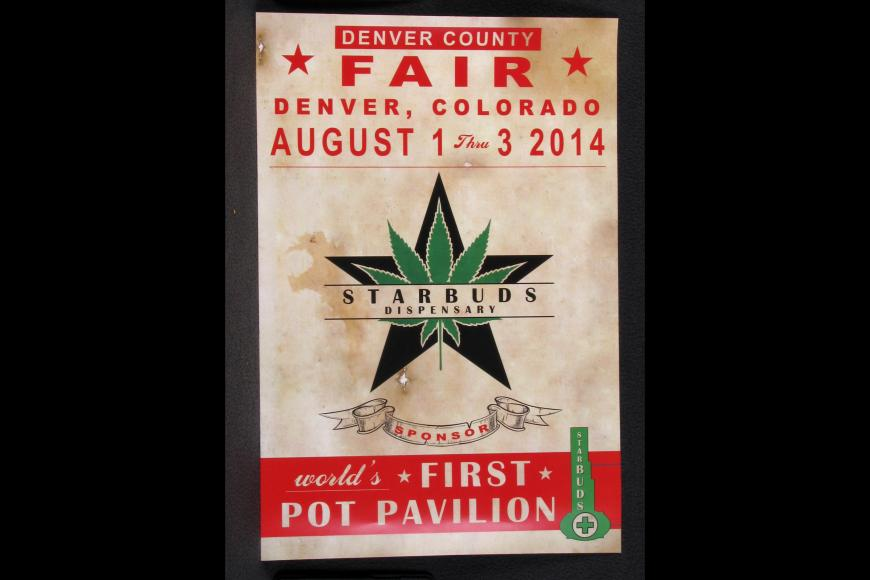 World's First Pot Pavilion Poster