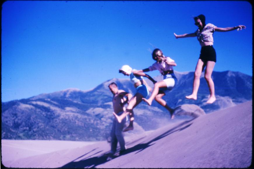 photo of people having fun at Great Sand Dunes