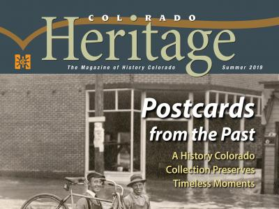 Colorado Heritage Magazine Summer 2019 cover