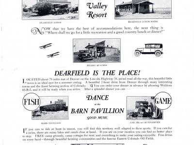 Town of Dearfield Poster