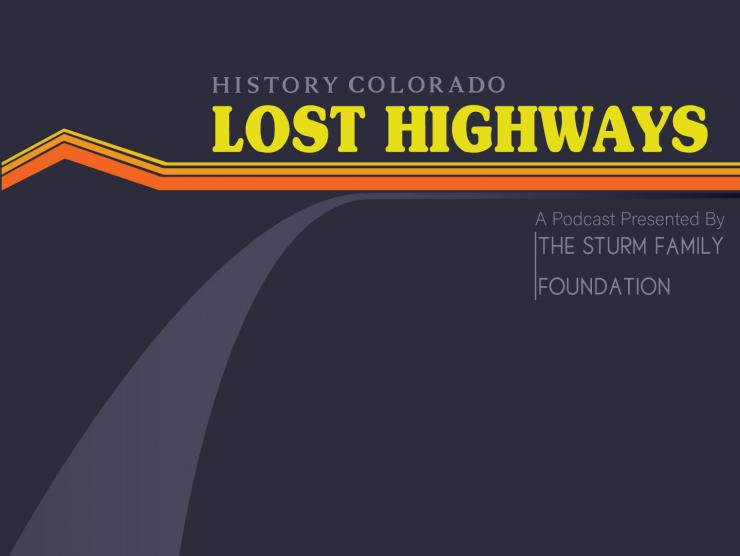 Lost Highways podcast logo