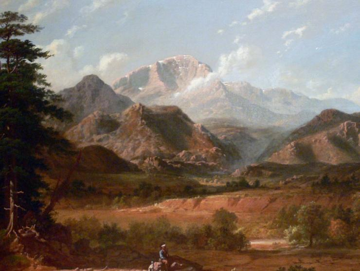 Pikes Peak Painting